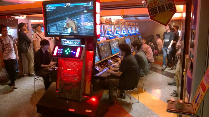 There are lines for Tekken Tag Tournament 2 all the time despite its console release.