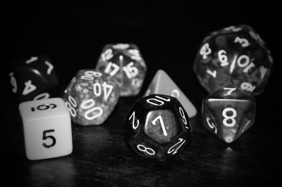 Dice from Creative Commons